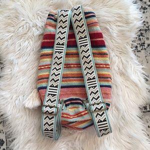 Billabong Woven Beach Backpack Embroidered